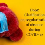 Dopt_ Clarification on regularization of absence during COVID-19
