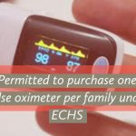 Permitted to purchase one pulse oximeter per family under ECHS