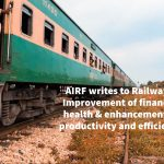 AIRF writes to Railways: Improvement of financial health & enhancement of productivity and efficiency