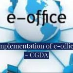 Implementation of e-office - CGDA
