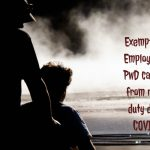 Exemption of Employees of PwD category from roster duty due to COVID19